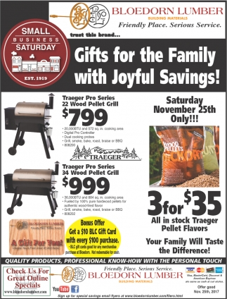 Gifts for the Family with Joyful Savings!