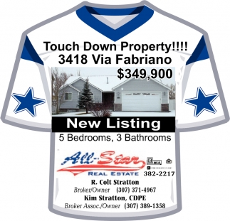 Touch Down Property!