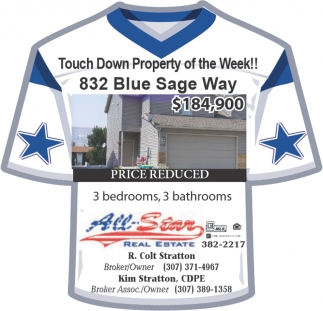 Touch Down Property of the week!