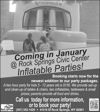 Inflatable Parties!