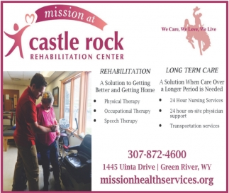 Rehabilitation and Long Term Care