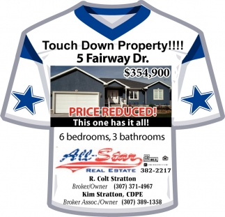 Touch Down Property!!!!!