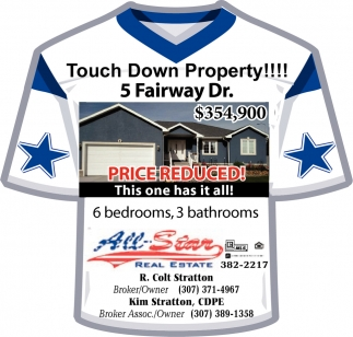 Touch Down Property!!
