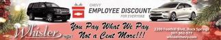 Employee Discount