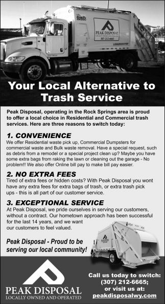 You Local Alternative To Trash Service