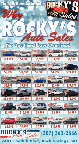 Why Rocky's Auto Sales?
