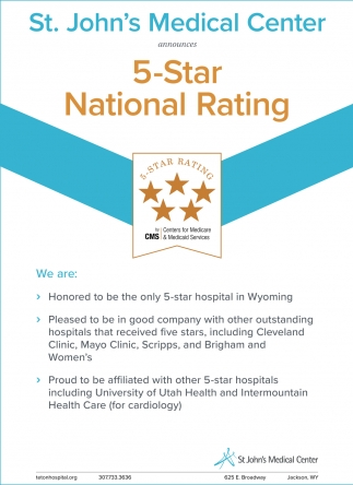 5-Star National Rating