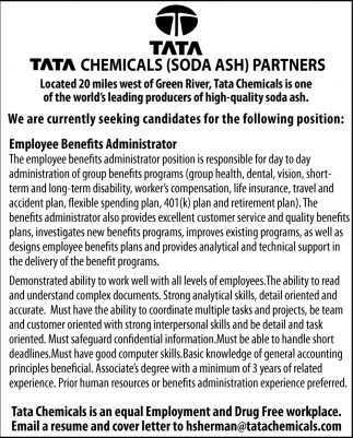 Tata Chemicals Partners