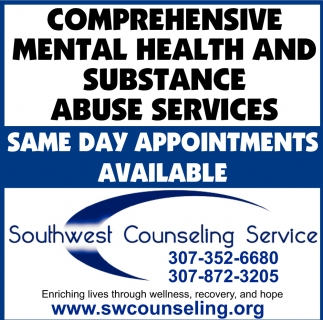 Comprehensive Mental Health and Substance Abuse Serviced
