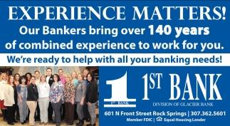 1st Bank