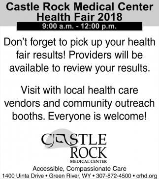 Health Fair 2018