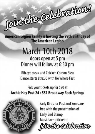 Join the Celebration!