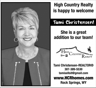 Welcome Tami Christensen