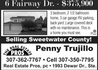 Selling Sweetwater County