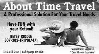 A Professional Solution For Your Travel Needs