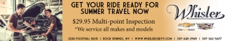 Get Your Ride Ready For Summer Travel Now