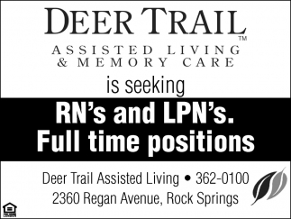 RN's and LPN's-