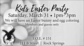 Kids Easter Part