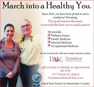 March into a Healthy you