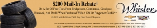 $200 Mail-In Rebate
