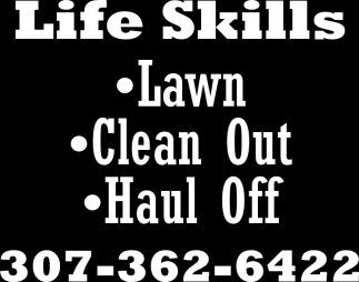 Lawn, Clean Out, Haul Off