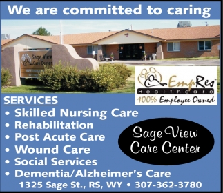 We are committed to caring