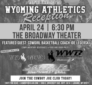 Wyoming Athletics Reception