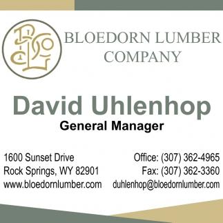 David Uhlenhop
