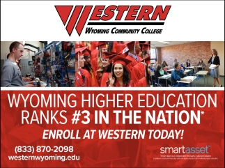Enroll at Western Today!