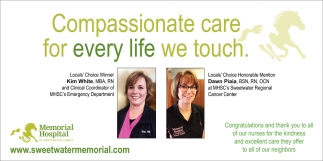 Compassionate care for every life we touch