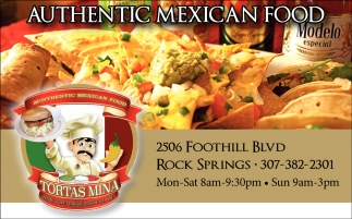Authentic Mexican Food
