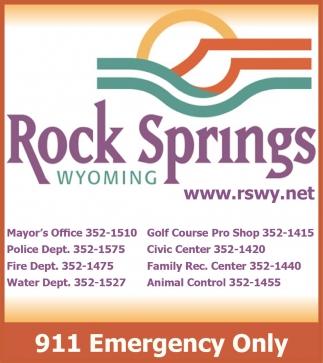 Rock Springs Wyoming