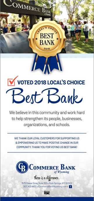 Voted 2018 Local's Choice