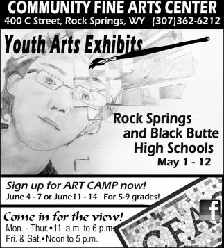 Youth Arts Exhibits