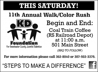 11th Annual Walk/Color Rush