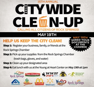 15th Annual City Wide Clean-Up
