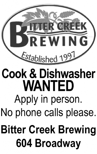 Cook & Dishwasher