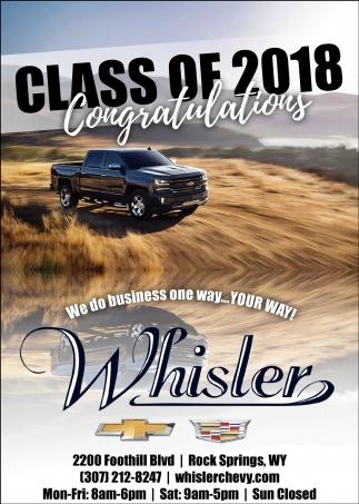 Class of 2018 Congratulations