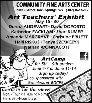 Art Teacher's Exhibit