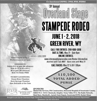 Overland Stage Stampede Rodeo