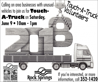 Touch-A-Truck Vounteers