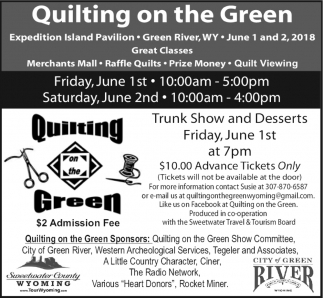 Quilting on the Green