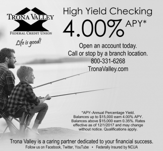 High Yield Checking