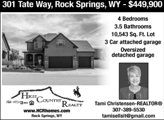301 Tate Way, Rock Springs, WY