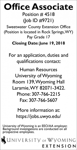 University of Wyoming dating