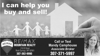 I Can Help You Buy and Sell!