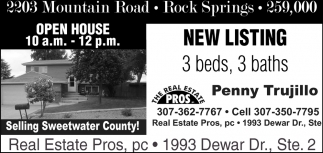 Selling Sweetwater Country!