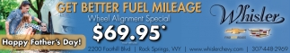 Get Better Fuel Mileage