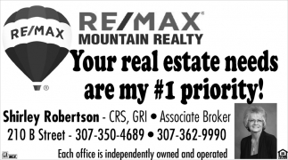 Your Real Estate Needs are My #1 Priority!