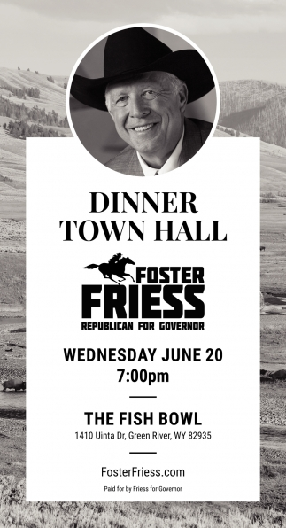 Dinner Town Hall